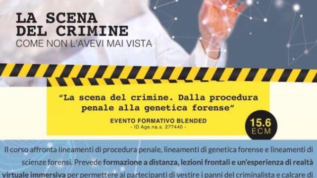 La scena del crimine. Dalla procedura penale alla genetica forense.